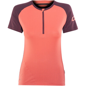 ION Traze Bike Jersey Shortsleeve Women orange/red